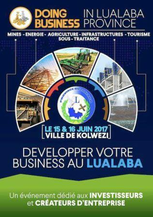 MATINEES DOING BUSINESS AU LUALABA DU 15 AU 16 JUIN 2017