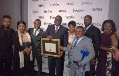 LUALABA: CEREMONIE DE REMISE DES AWARDS DE FORBES BEST OF AFRICA